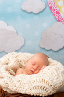 Coral Newborn Session